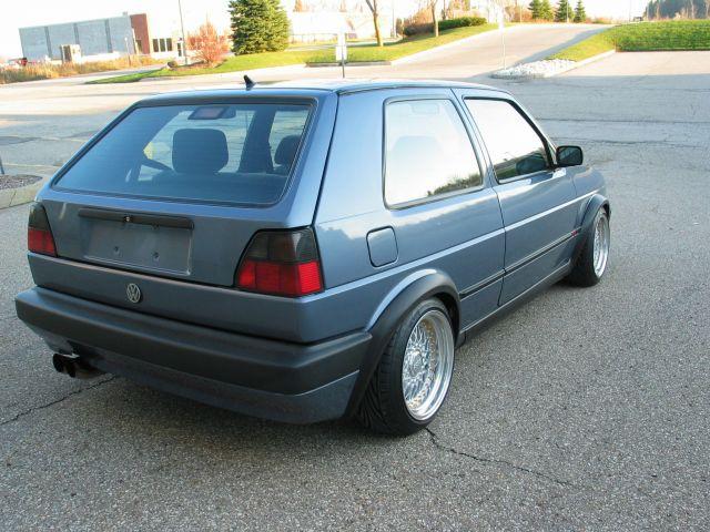 VWVortex.com - FS: 1992 Golf VR6, M5 Steel Blue, BBS RS, Immaculate